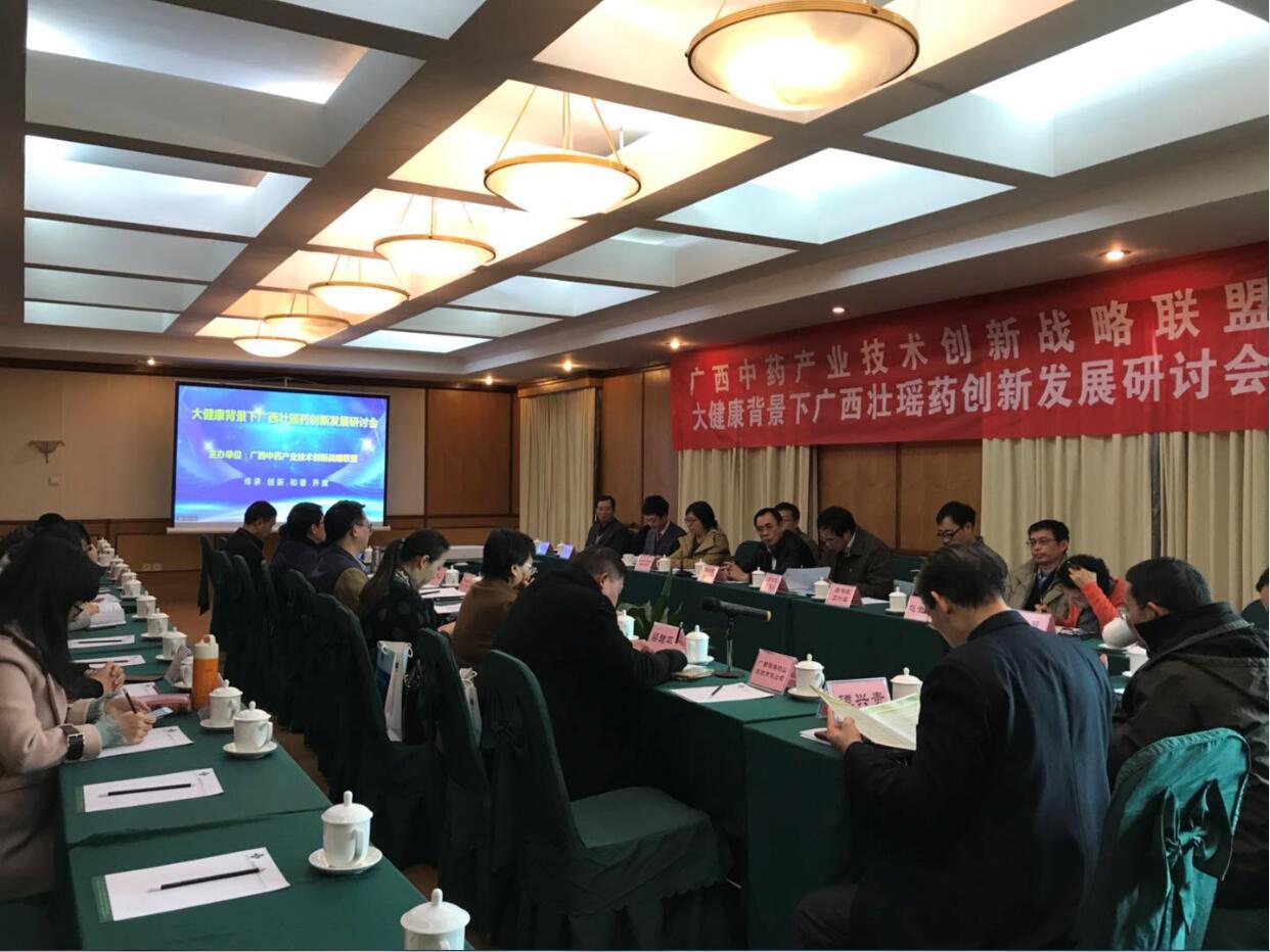 大健康背景下广西壮瑶药创新发展研讨会在南宁隆重召开