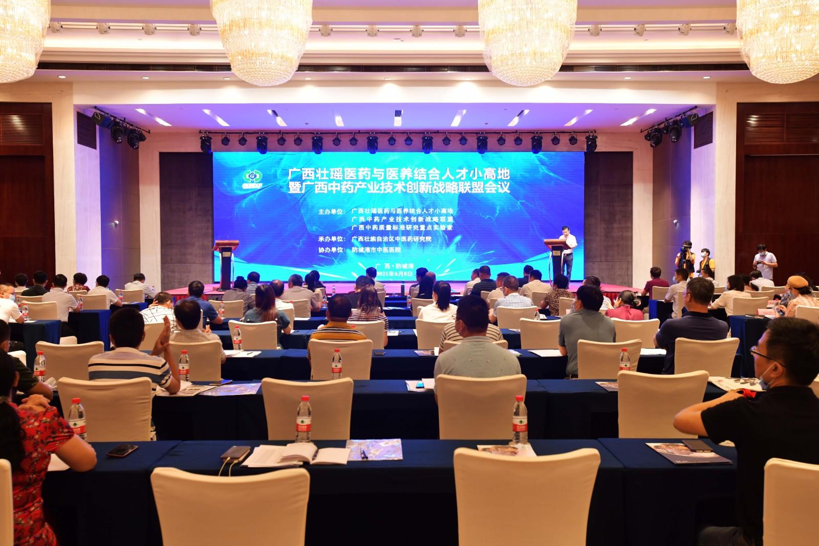 广西壮瑶医药与医养结合人才小高地暨广西中药产业技术创新战略联盟会议在防城港召开